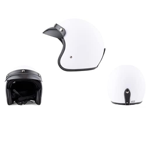CoCaLay Motocicleta Scooter Motocross casco de cara abierta (Yabai, 58-59cm)