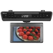 Why Should You Buy SYLVANIA SKCR2706BT 10.2 Under-Counter Bluetooth Kitchen TV with Built-in DVD Pl...