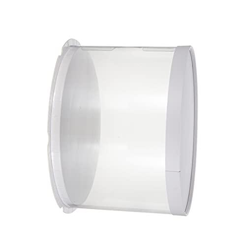 Angoily Cajas de Pastel Caja de Transporte de Pastel Caja de Embalaje de Pastel Caja de Almacenamiento de Galletas para Pasteles Postres Pastelería 8 Pulgadas