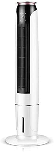 Fan Tower, Remote Control Portable Mobile Air Conditioner, Air Cooler, Cooling Tower, Leafless Air Cooler, 3-speed Adjustment, 30X110cm