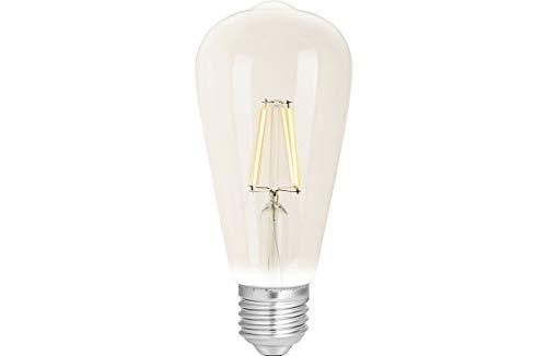 WiZ G2 TW+ Dimming ST64 E27 Clear Leuchtmittel, Glas, 12 W, Weiß Filament Klar, ST64-E27