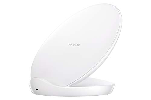 Samsung Qi Certified Fast Charge Wireless Charger Stand (2018 Edition) - US Version - White (Renewed)