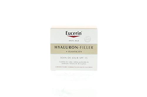 Eucerin Hyaluron Filler + Elasticity Tagescreme SPF 15 Creme Reife Haut 50ml
