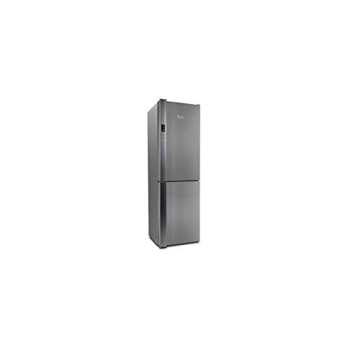 Hotpoint XH9T2ZXOJZV Libera installazione 369L A++ Acciaio inossidabile frigorifero con congelatore