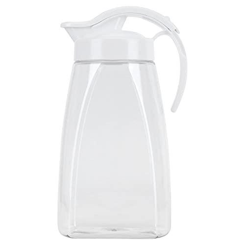 YIFengFurun Botella de agua fría Botella de agua fría plástica de gran capacidad transparente botella de agua fría jarra de jugo grande
