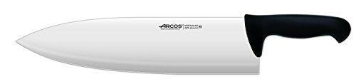 Arcos Serie 2900, Cuchillo Roma, Hoja de Acero Inoxidable Nitrum de 220 mm, Mango inyectado en Polipropileno Color Negro