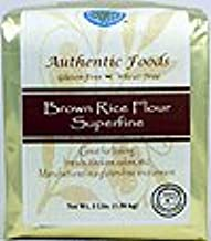 Best authentic foods superfine brown rice flour free shipping Reviews