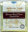 superfine, gluten free, wheat free, rice flour, brown rice flour, baking