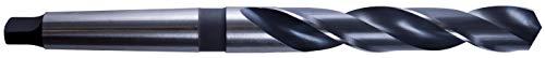 Presto 1111110.0 HSCo Kegelschaftbohrer, DIN 345, MTS 1, P2 Bronze Finish, 87 mm Nut Länge, 10.00 mm Durchmesser, 168 mm Länge