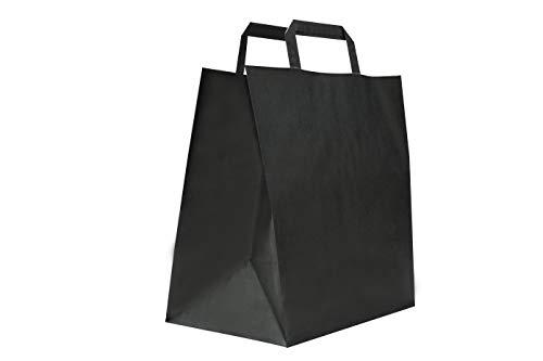 Carte Dozio - Lote de 50 bolsas de papel kraft con fondo cua