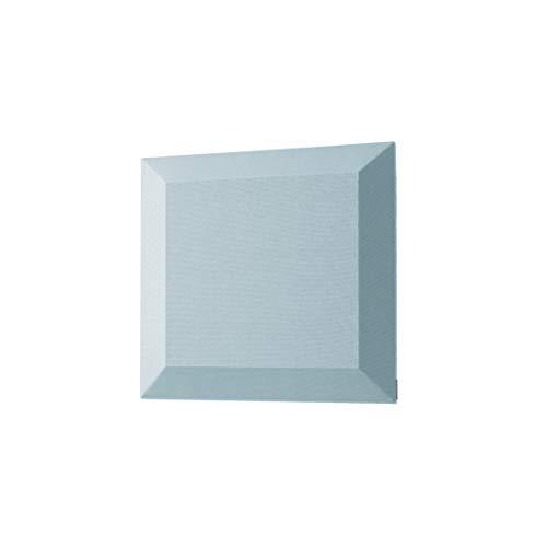 SIGEL SB102 Akustik Wandfliesen Schallabsorber hellblau, Stoffoberfläche, Polyestervlies-Kern, 40x40x4,2 cm, 2 Stück
