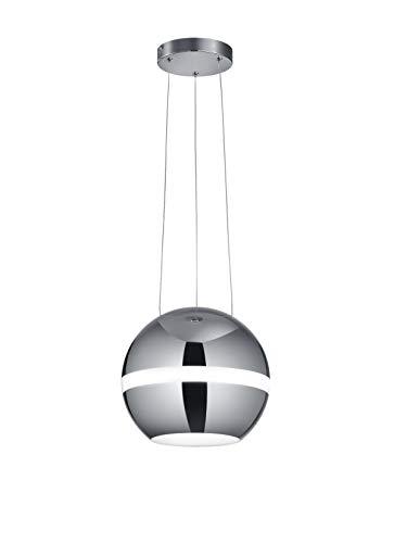 Trio Leuchten 376110106 Balloon A+, hanglamp, 30 watt, geïntegreerd, chroom
