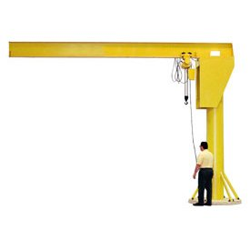 Fantastic Deal! Abell-Howe Heavy Duty Floor Crane 4B0900 6000 Lb. Capacity