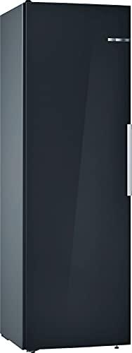 Bosch KSV36VBEP Serie 4 Freistehender Kühlschrank / E / 186 cm / 116 kWh/Jahr / Schwarz / 346 L / VitaFresh / EasyAccess Shelf
