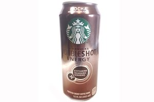 starbucks double shot energy fortified energy coffee drink (mocha with other natural flavors) - 15fl oz [3 units] (012000028458)