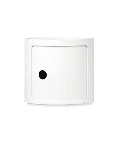 Kartell - Componibili Container - 1 Element hoch - weiß - Anna Castelli Ferrieri - Design - Container