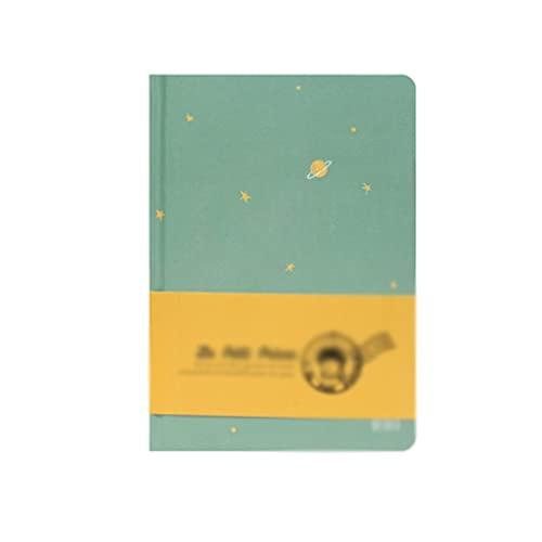 ZANZAN Cuadernos de Notas Cuaderno De Páginas En Color Cuaderno De Notas Cuaderno De Notas Portátil Diario De Aprendizaje Papelería (128 Páginas) blocs de Notas (Color : Green)