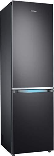 Samsung RB8000 RL36R8739B1/EG Kühl-/Gefrierkombination, 202 cm, A+++, 357 L, Premium Black Steel, Kitchen Fit, Cool Select Plus, Grifflicht