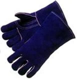 Kevlar Sewn//Stiched One Dozen Large Blue Welding Gloves 12 Pair