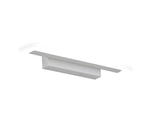 Badkamerlamp op zonne-energie, met spiegel, led-spiegel, koplamp, modern, badkamerspiegel, wandlampen, badverlichting, hotel, dresser, make-upspiegel, verlichting, energie-efficiëntieklasse in