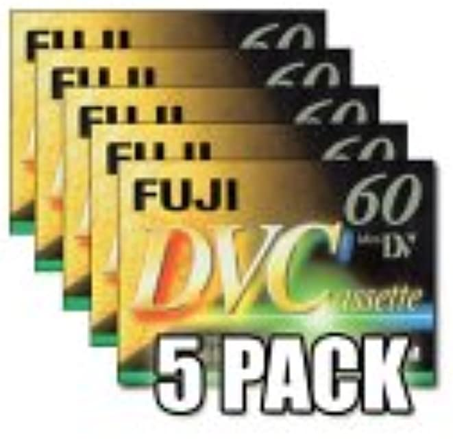 Fujifilm DVC - Mini DV (60 min 5 Unidades)