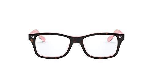 Ray-Ban 0Ry1531, Monturas de Gafas Unisex-Niños, Marrón (Top Havana on Opal Pink), 48