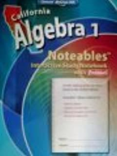 Noteables - Interactive Study Notebook with Foldables (California Algebra 1)
