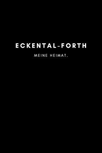 Eckental-Forth: Notizbuch, Notizblock, Notebook | Punktraster, Punktiert, Dotted | 120 Seiten, DIN A5 (6x9 Zoll) |...