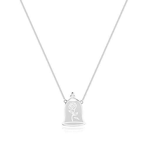 Disney Couture Kingdom - Collar de plata de ley con diseño de princesa