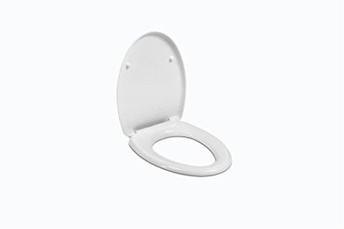 Ideal Standard J102500 Sedile in Termoindurente Normale Novella, Bianco