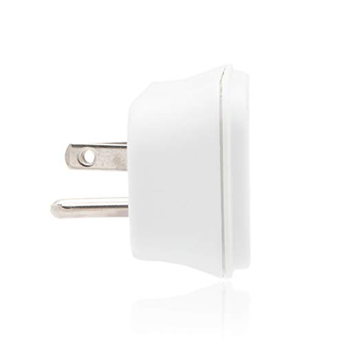 Maxxima 3 Grounded Multi Outlet Adaptor Wall Plug, Turn one outlet into 3 (Pack of 4)
