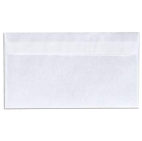 SOHO Umschlag Kabinett C5/6 Papier 11 x 22 cm weiß 50 Stück