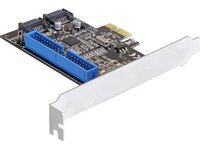 DeLock PCI Express Card (2X intern SATA III, 1x intern IDE)