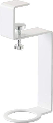 山崎実業(Yamazaki) 洗面戸棚下ディスペンサーホルダー ホワイト 約W4.5XD6XH15.7cm タワー 浮かせて収納 衛生的 5004