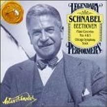 Beethoven;Piano Concertos 4 by Schnabel (1993-04-06)