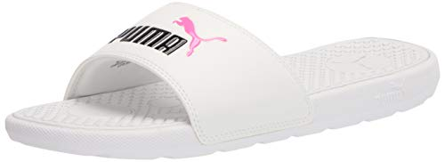 PUMA Sandali da donna Cool Cat, Puma White Knockout Pink, 5
