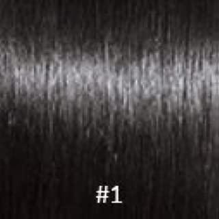 Virgin U-Tip Peruvian Kinky Curly Hair,#1 Jet Black,16 Inch