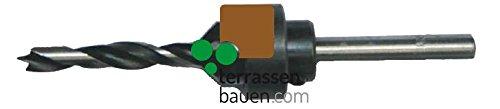 K & R boor met verzinkboor 6 mm voor terrasschroeven