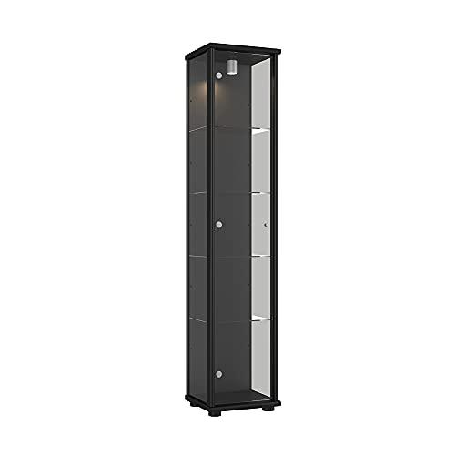 K-Möbel Schwarz 176x37x33 cm Bild