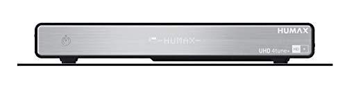 HUMAX Digital UHD 4tune Satellitenreceiver Schwarz/Silber (Generalüberholt)