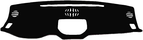 Rsioslez Coche Dashboard Cover Pad para Peugeot 307,Coche Fundas Salpicadero,Dash Mat Parasol Antideslizante Alfombra Pad,Accesorios Coche