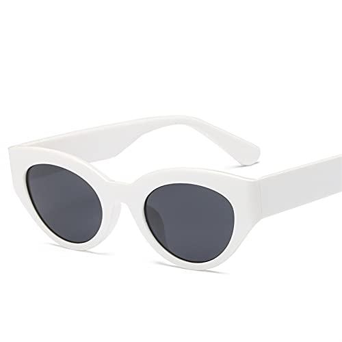 SLAKF Gafas de Sol Gafas de Sol Retro Gafas de Sol Gafas de Sol Negras Gafas de Sol Señoras (Frame Color : Other, Lenses Color : WHGA)