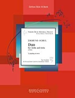 Duo for Violin and Viola Violine und Viola
