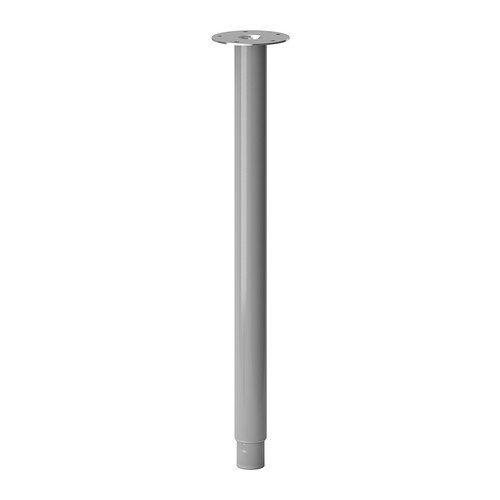 IKEA OLOV - Pierna, ajustable, color plata - Doble Estándar