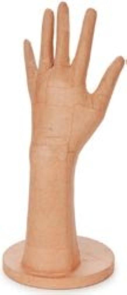 Bulk Buy: Corein.dinations Paper Mache Hand W/Base 5in. x 11in. (3-Pack)