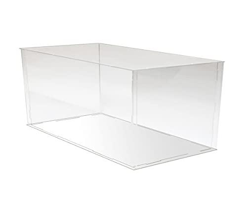 iFREEMEN 【 アクリル 】 コレクションケース フィギュアケース ディスプレイケース (30x15x15cm, 台座白)