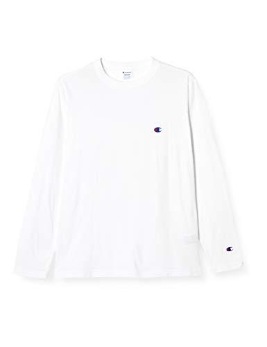 [チャンピオン] ワンポイントロゴ ロングスリーブTシャツ ベーシック C3-P401 メンズ ホワイト L
