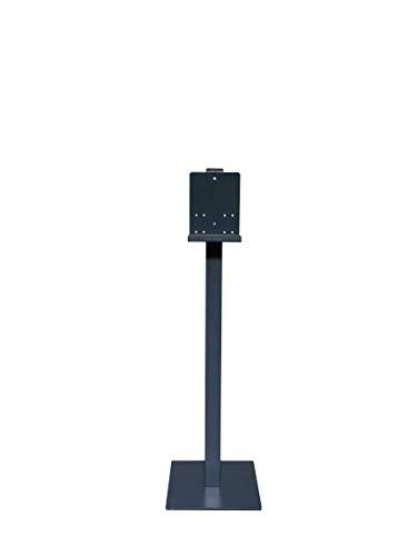 Avex Nicas SI Soporto para Dispensador de Pie para Gel Hidroalcohólico Desinfectante de Manos Estable y Atractivo. NEGRO.