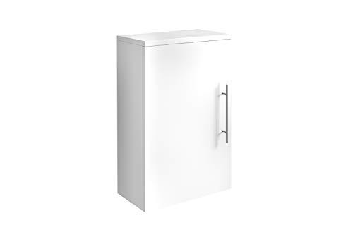 SAM Hängeschrank Verena, Hochglanz weiß, 1 Tür, pflegeleichtes Badmöbel, 60 x 40 x 20 cm