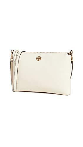 Tory Burch Women's Kira Crossbody Bag, New Cream, Off White, One Size